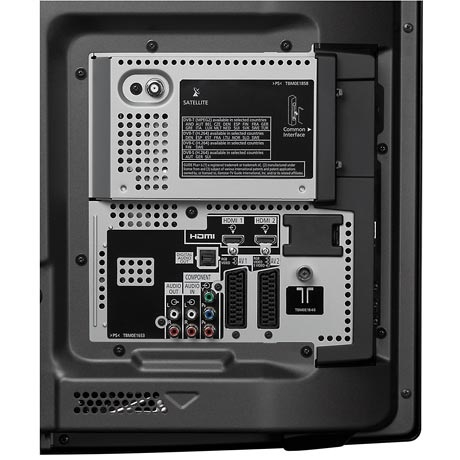 Panasonic TX-P 50 GW 10 Connection Panel