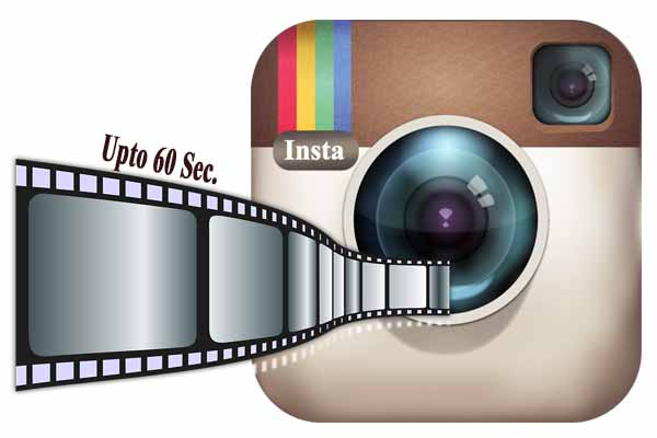 Share 60 Seconds Videos through Instagram