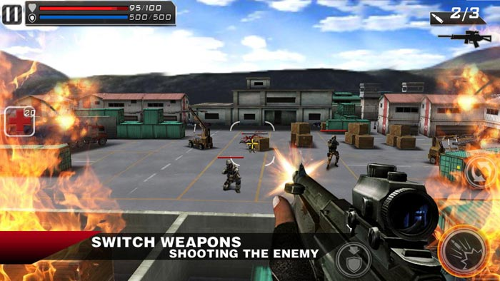 play store action games free