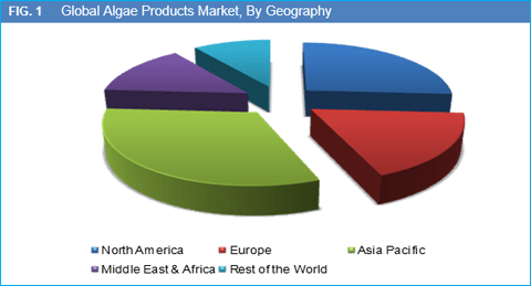 Global Algae Products Market is Expected to Reach Over US$ 0.70 Bn by 2022