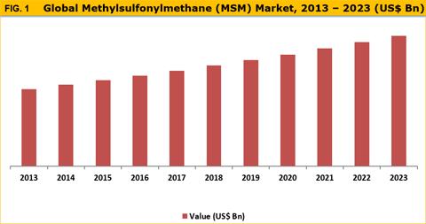 Methylsulfonylmethane (MSM) Market