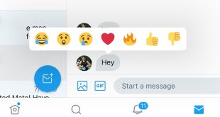 Twitter has introduced The Reactions Feature of Direct Messages