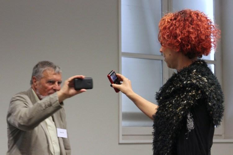 Colloque Téléphone Mobile et Création, 2014. Laurent CRETON