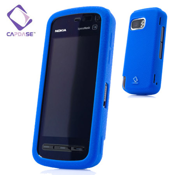 Capdase Soft Frame Skin - Nokia 5800 XpressMusic - Blue