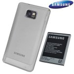 White Cases Compatible with the Genuine Samsung Galaxy S2 Extended Battery