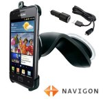 Navigon Samsung Galaxy S2 car holder & charger