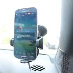Nokia wireless charging NFC car holder is compatible with Nexus 4 and Galaxy S4