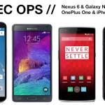 Spec Ops: iPhone 6 Plus vs Nexus 6 vs OnePlus One vs Note 4
