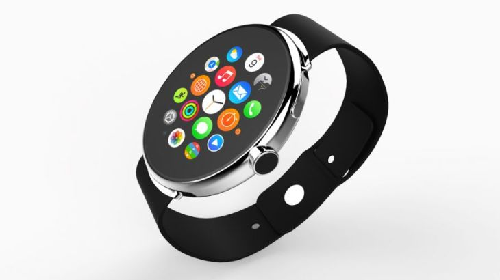 A beautiful concept, but we don't expect a circular Apple Watch any time soon