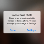 How to fix 'Cannot Take Photo' error on iPhone