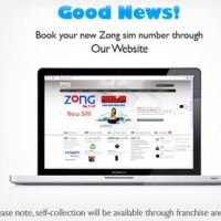 Enjoy the Online Number Booking Service by ZONG