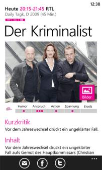 TV Spielfilm - Deine TV Zeitschrift für Windows Phone, iOS und Android