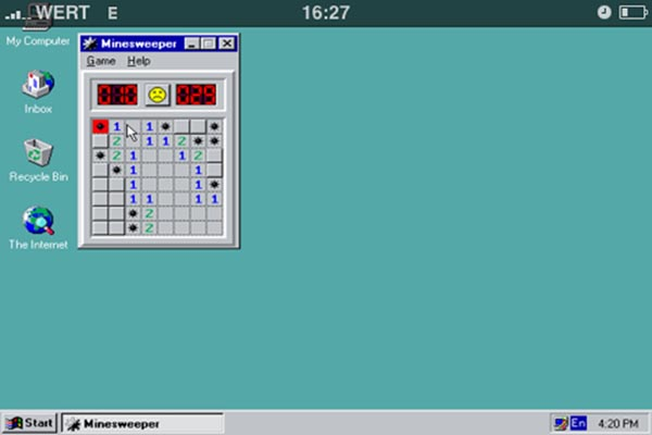 iPhone with Windows 95
