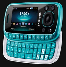 Going Off-Kilter with Unique Samsung B3310 Slider Phone