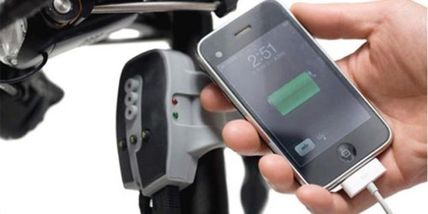 Charge Your iPod and iPhone with Bicycle Power