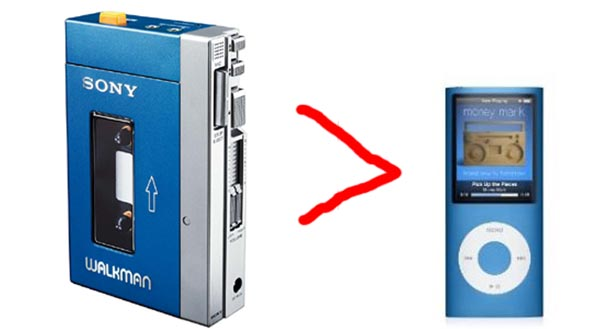 Sony Walkman Overtakes Apple iPod to Be Top MP3 Player in Japan
