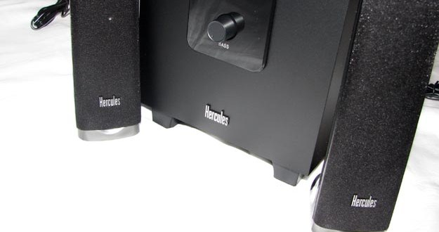 REVIEW - Hercules XPS 2.1 40 Slim Speaker System