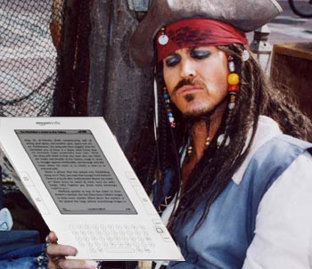 Floodgates Open for Pirates of the Amazon Kindle