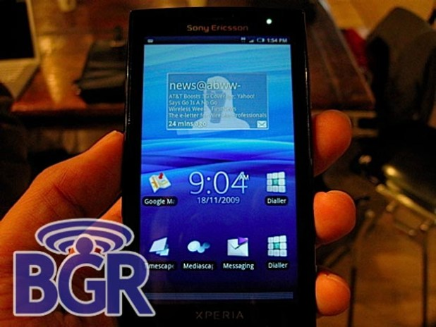 T-Mobile and AT&T to Get Sony Ericsson XPERIA X10?