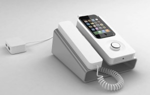 iPhone Desk Dock brings you back 25 years