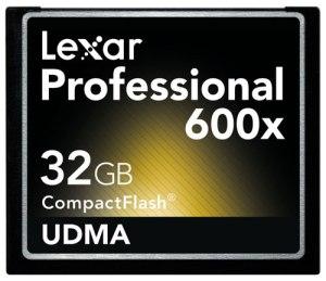 Lexar 32GB 600x Compact Flash Card
