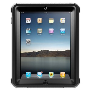 The rugged Otterbox Defender case for the Apple iPad