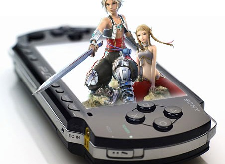 Concept: Sony PSP 3D portable gaming system