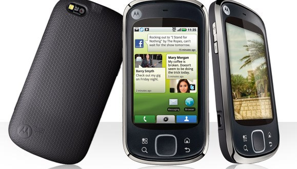 Motorola Quench, budget-minded Android smartphone from Rogers