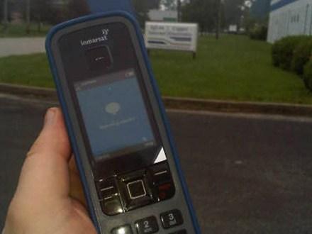 iSatphone pro hands on