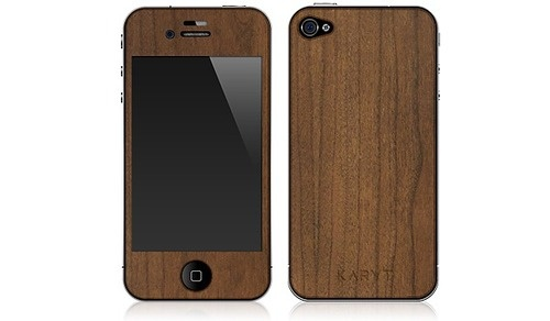 iPhone 4 Cherry Wood skin