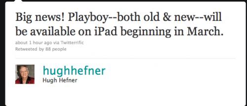 Playboy iPad App