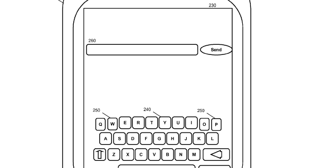 IBM virtual keyboard