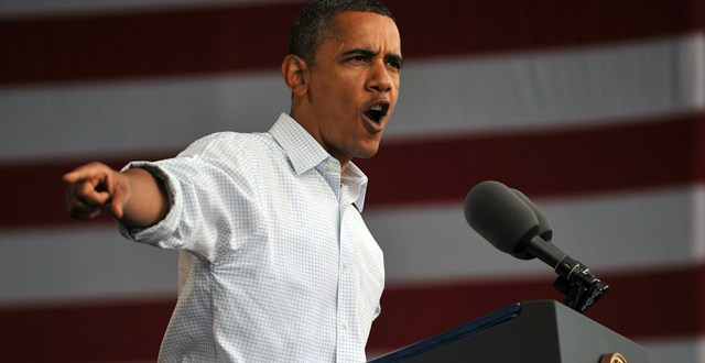 US President Barack Obama makes remarks