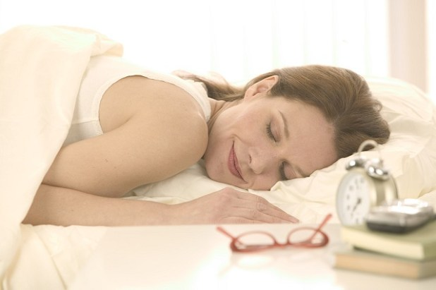 Woman Sleeping Peacefully January 8, 2004