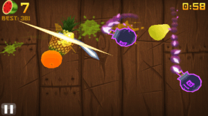 Cherry Mobile Blaze Screencaps Fruit Ninja