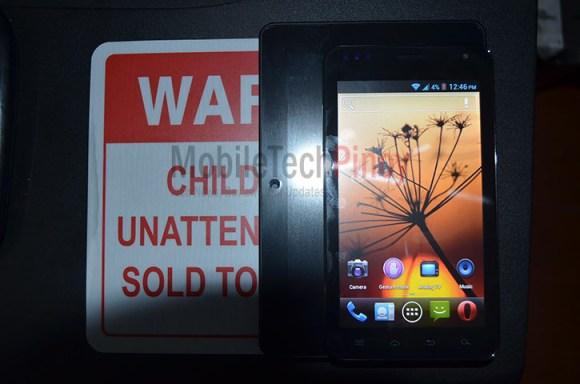 Cherry Mobile Titan TV Size Comparison