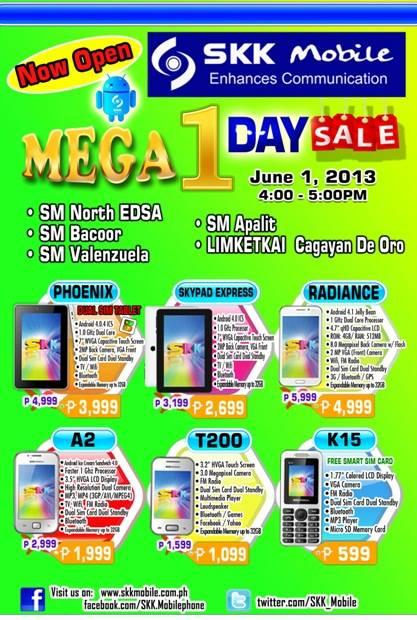 SKK Mobile June 1 Mega Sale