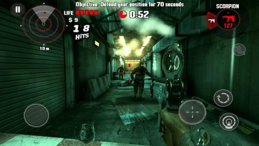 MyPhone A919i Duo Screenshots: Dead Trigger