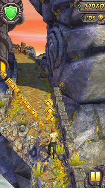 MyPhone A919i Duo Screenshots: Temple Run 2