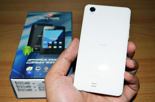 Cherry Mobile Sonic Back View