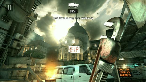 Dead Trigger 2 Screenshot Lens Flare