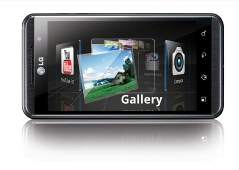 LG Optimus 3D with glassless 3D display