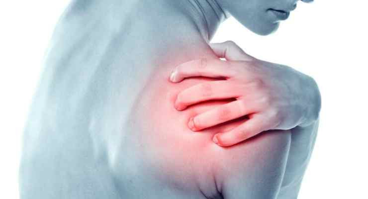 natural shoulder pain relief