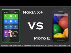 Moto E vs Nokia X+