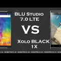 Compare Online Xolo BLACK 1X VS BLU Studio 7.0 LTE Price, Specification, Review