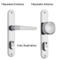 Fechadura de porta, com senha moderna e segura