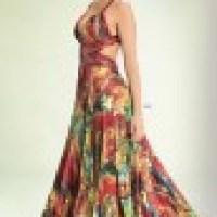 vestido longo florido, tendência em alta verão 2014