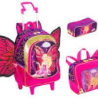Mochila barbie butterfly quem vem fazendo maior sucesso