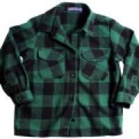 Camisa de flanela em lindo xadrez, cores fortes