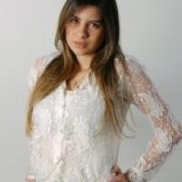 Blusa de renda social: moda feminina estilo chique